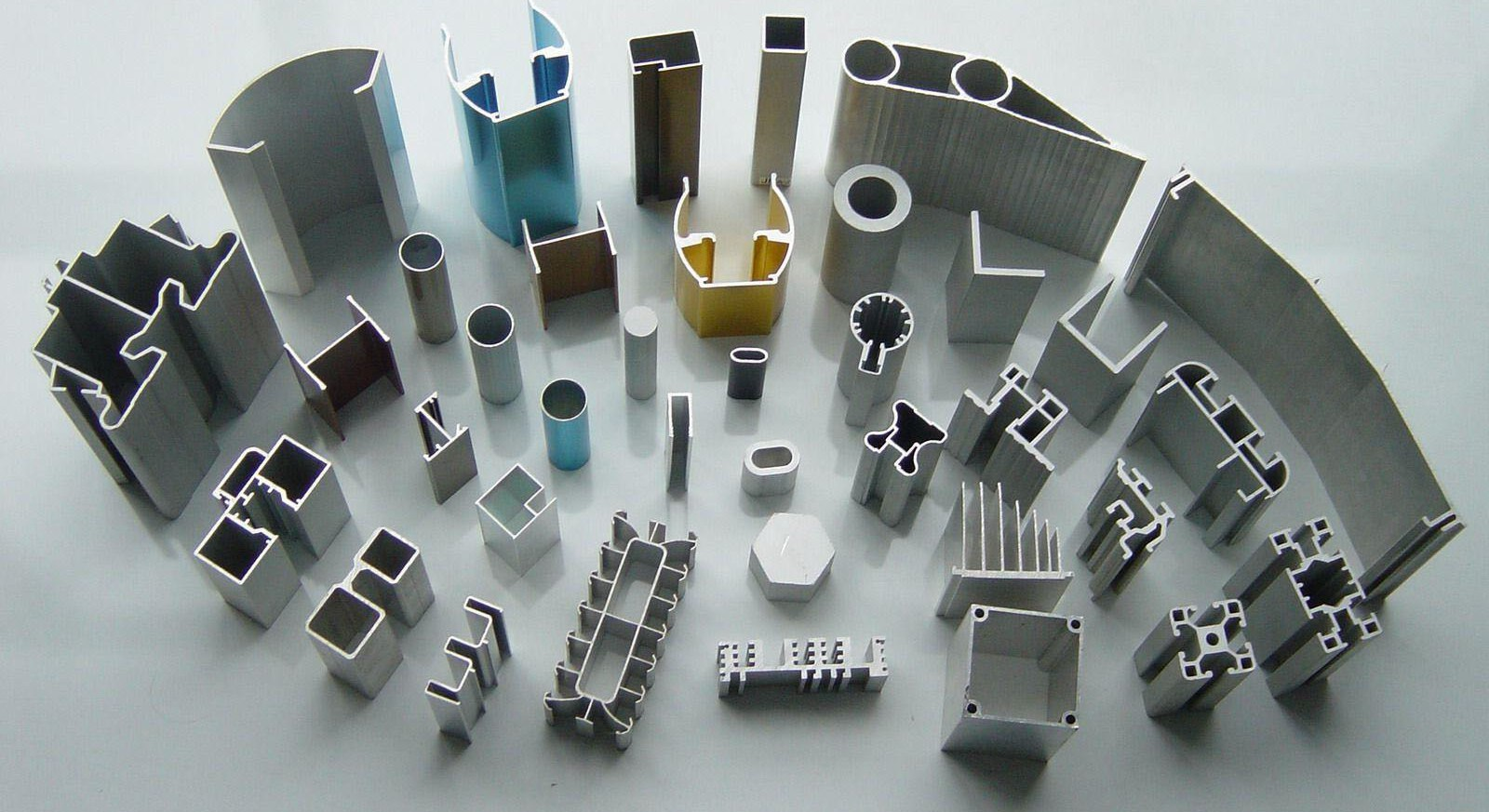 Standard Extruded Aluminum Shapes Made With The Extrusion